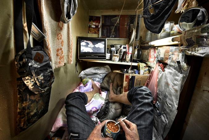 Inside Hong Kong S Insanely Cramped And Illegal Coffin Homes