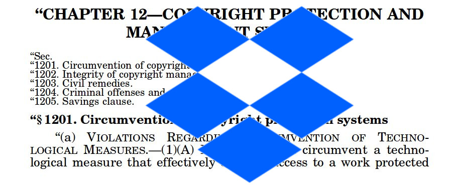 Dropbox has some genuinely great security reporting guidelines, but reserves the right to jail you if you...