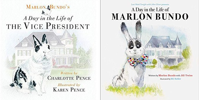 Children's book about Mike Pence's gay pet rabbit storms Amazon