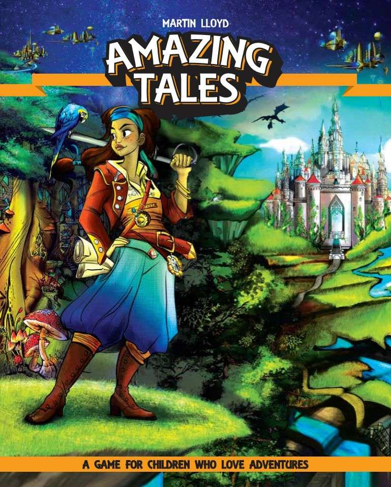 Amazing Tales: a storytelling game with dice for kids and grownups