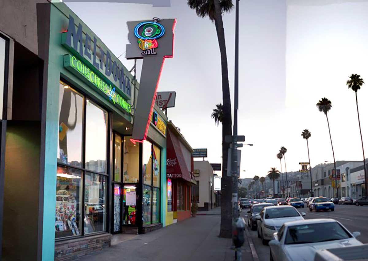 Meltdown Comics, a Los Angeles landmark, is shutting down