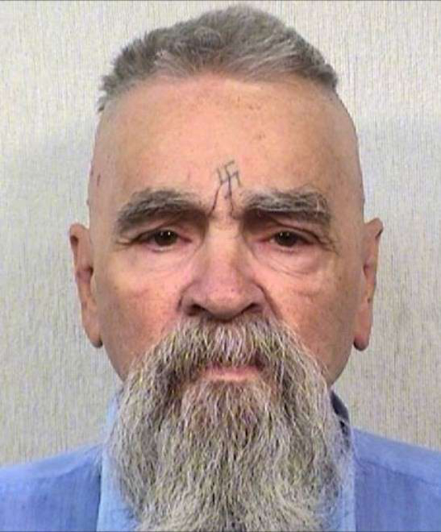Over Charles Manson's dead body: grandson to cremate cult leader's remains