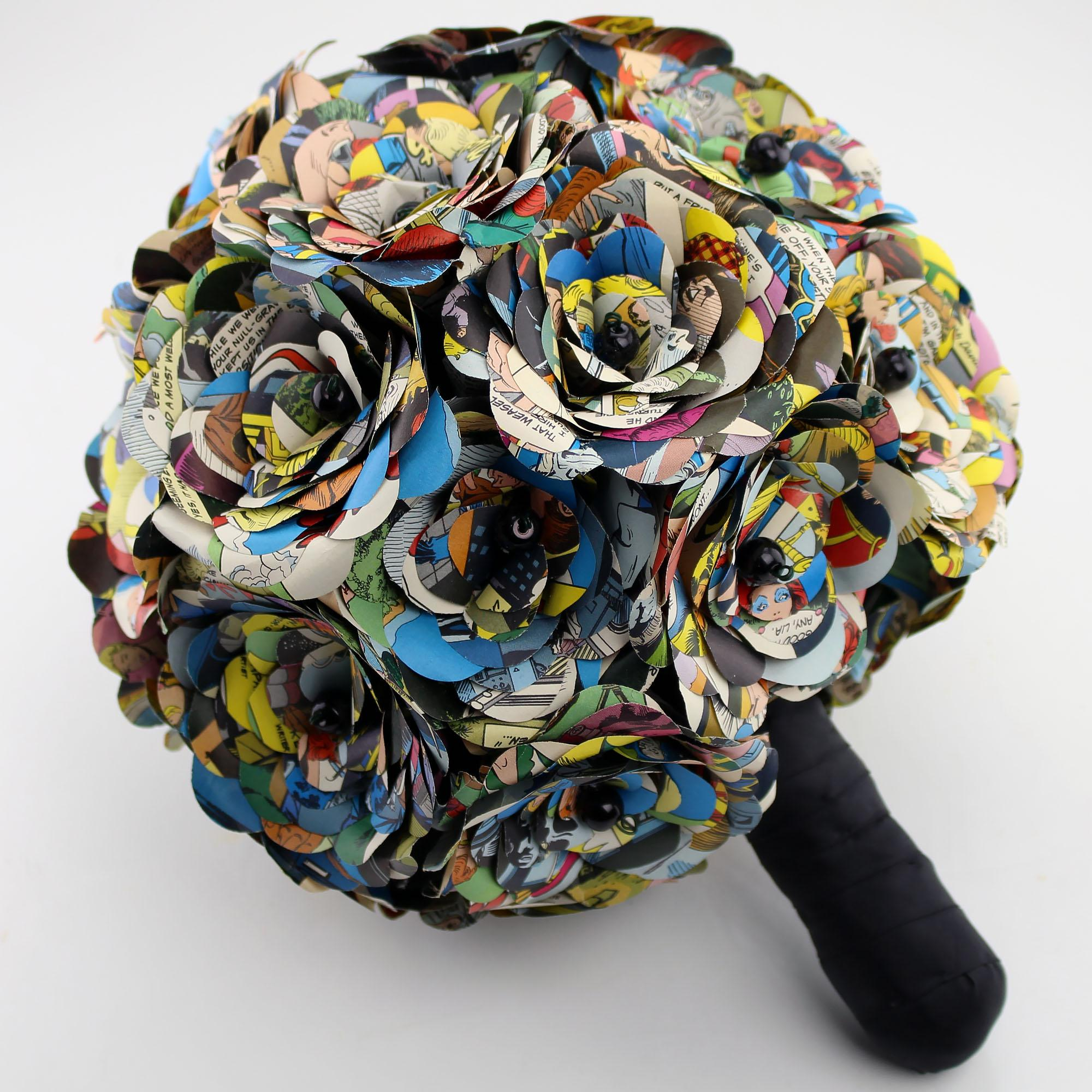 comic book bouquets and boutonnieres boing boing