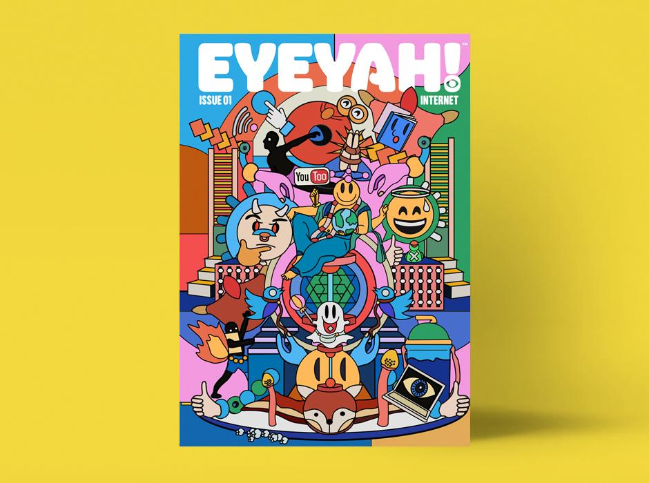 Cool New Art Project Magazine From Singapore Eyeyah