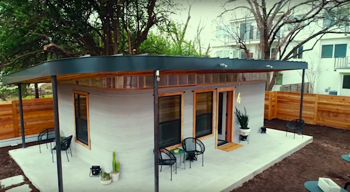 check out this beautiful and super cheap 3d printed house unveiled today at sxsw boing boing. Black Bedroom Furniture Sets. Home Design Ideas
