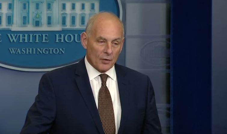 John Kelly boasts about firing Rex Tillerson while he was the toilet