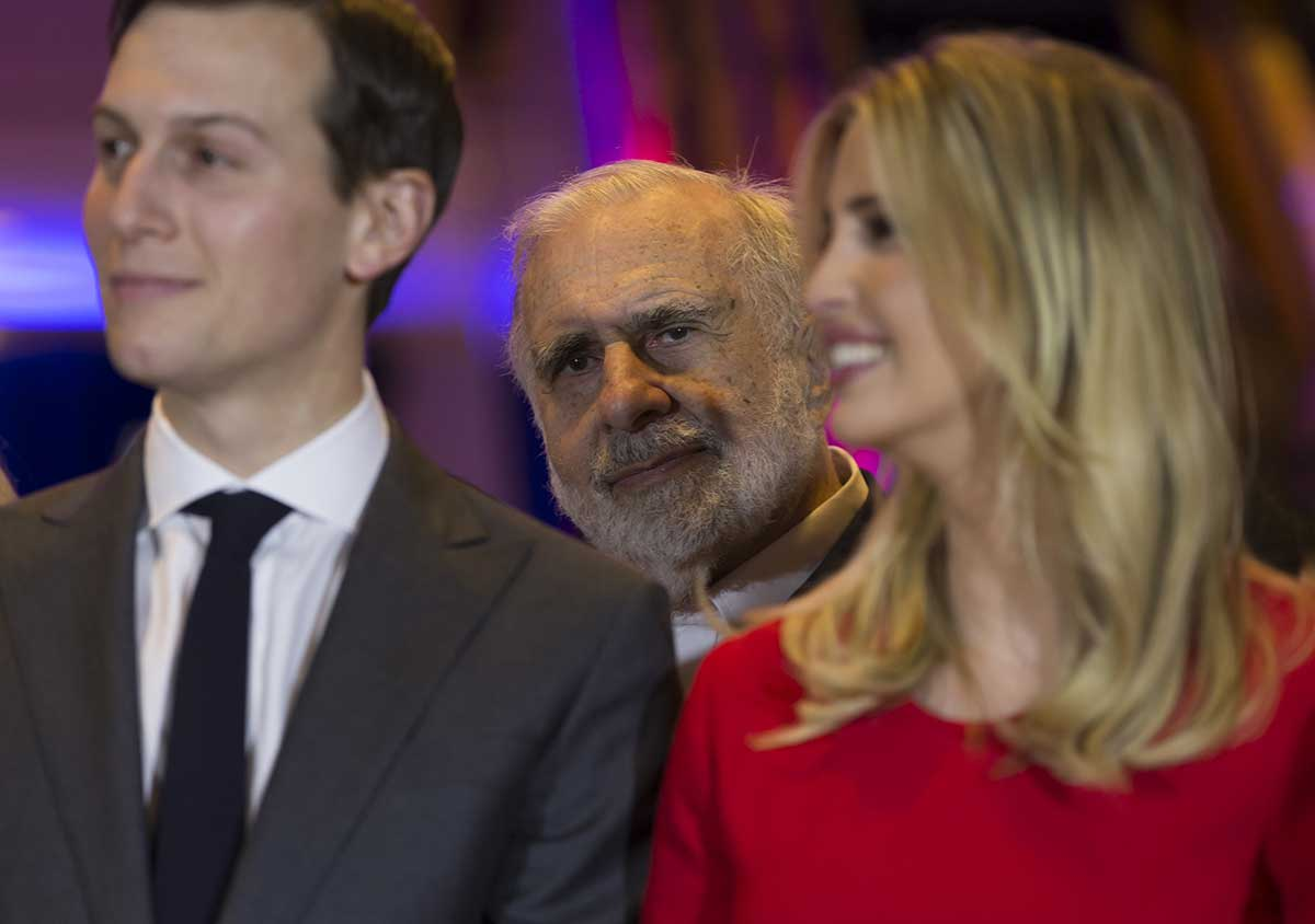 Think Progress reports that billionaire Carl Icahn, one of Trump's BFFs,  sold 1 million shares of Manitowoc Company Inc. right before Trump  announced his ...