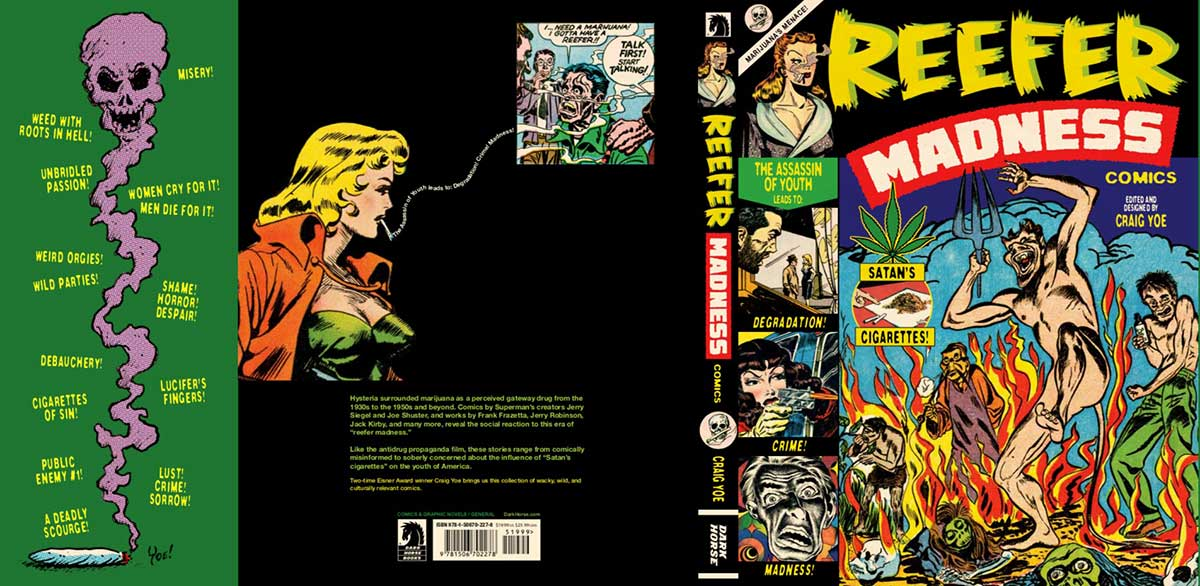 Reefer Madness: anthology of funny old weed-scare comic books