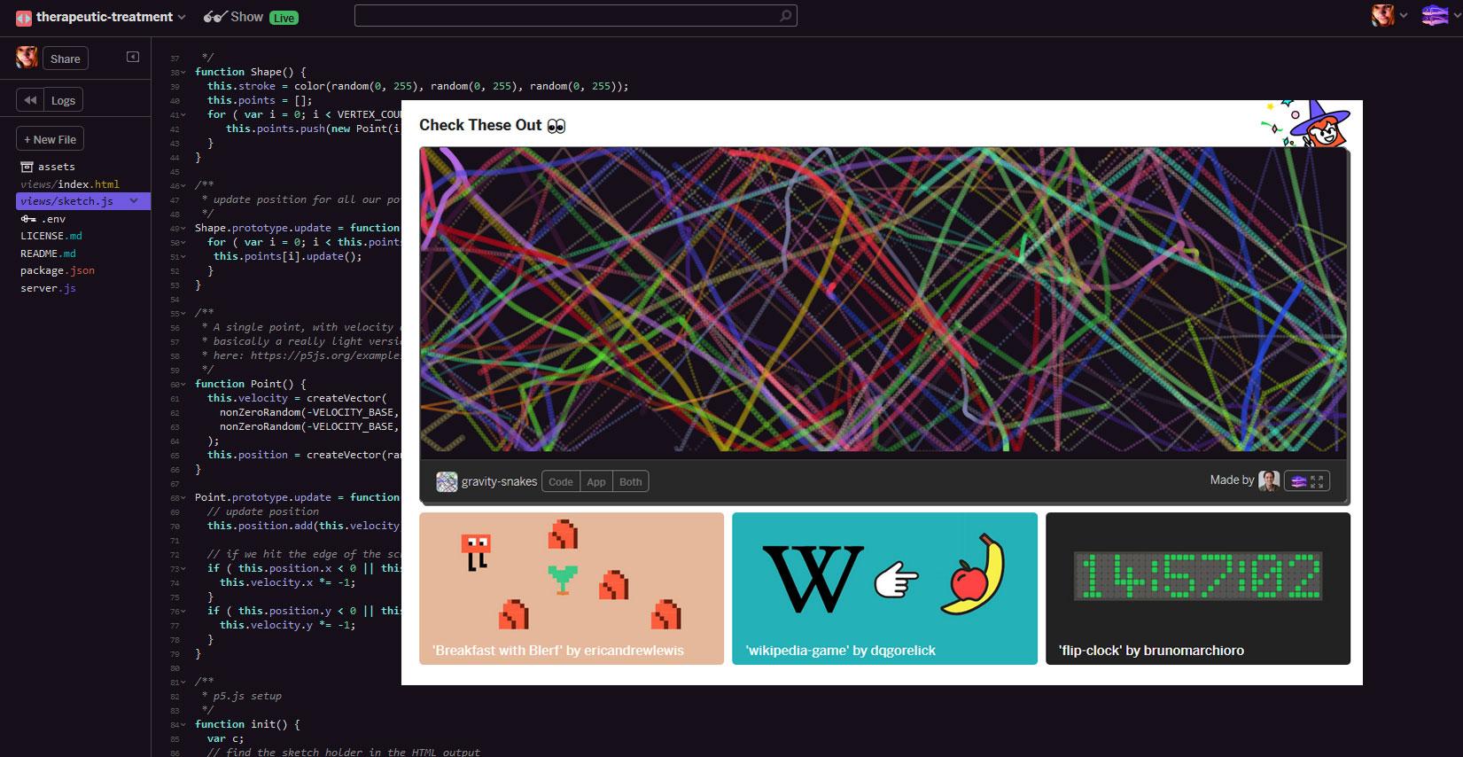 Glitch makes programming on the web fun again / Boing Boing