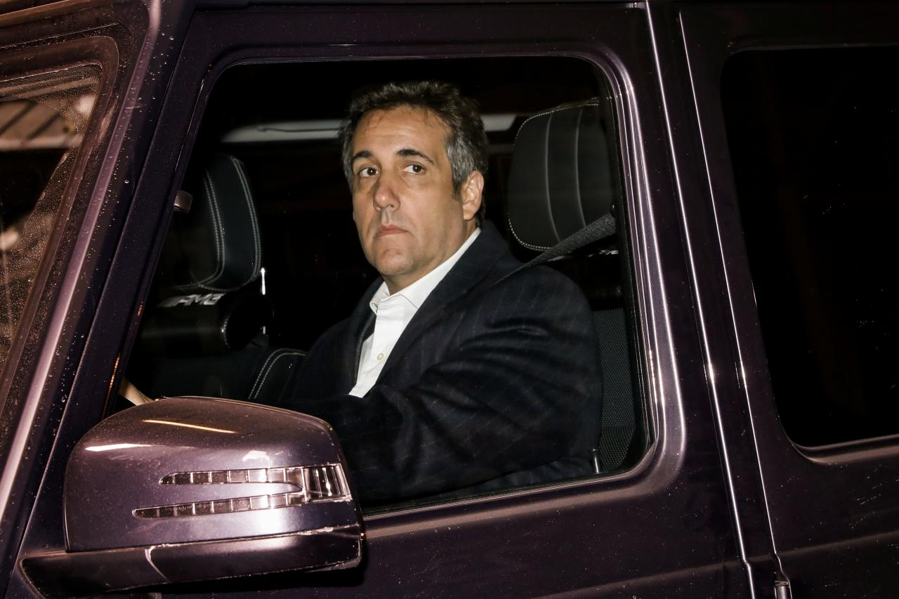 Michael Cohen secretly taped him and Donald Trump talking about paying off a Playboy model