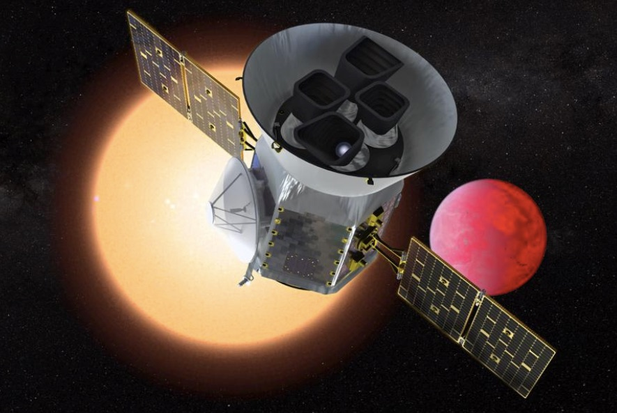 "Launching today: NASA's new satellite seeking ""alien"" Earths"