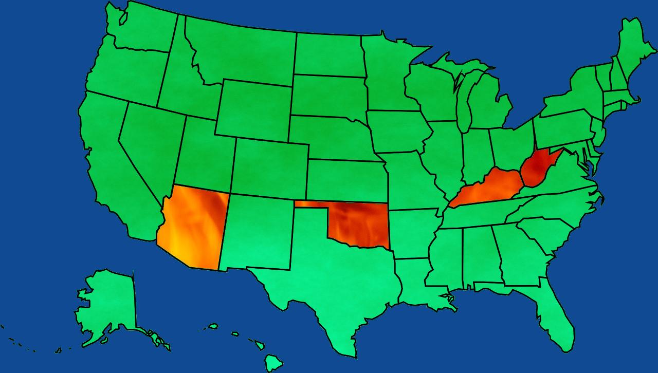 2018 tsunami: Teachers lead mass strikes in four red states that ...