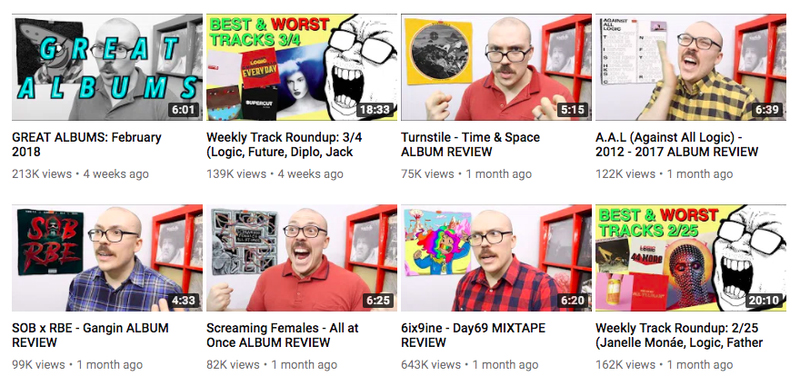 YouTube Face: the same thumbnail on every video / Boing Boing