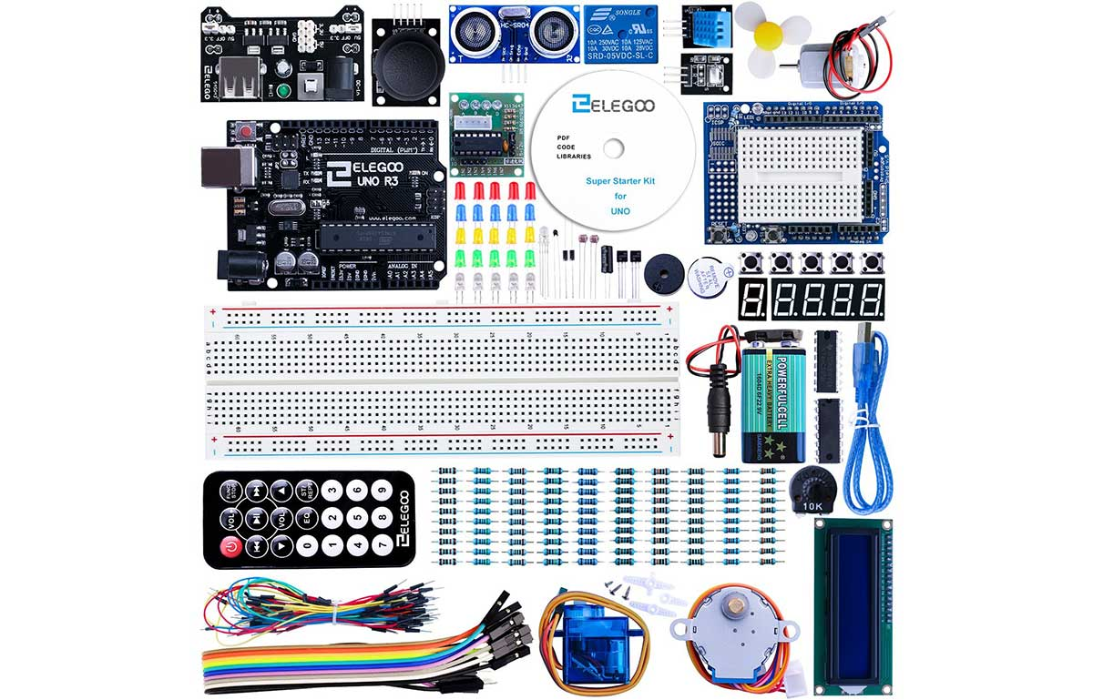 Good deal on an Arduino clone starter kit