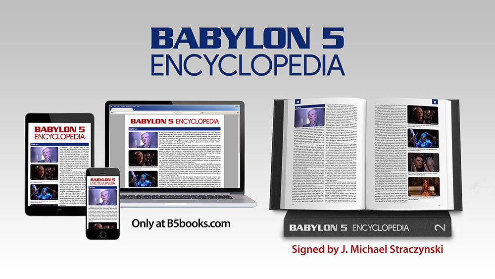 Get the awesome Babylon 5 encyclopedia print edition before it sells out
