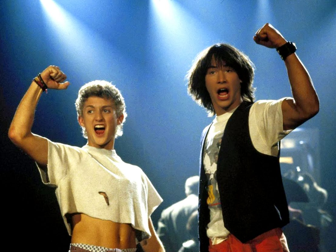 most excellent third bill ted flick in the works boing boing