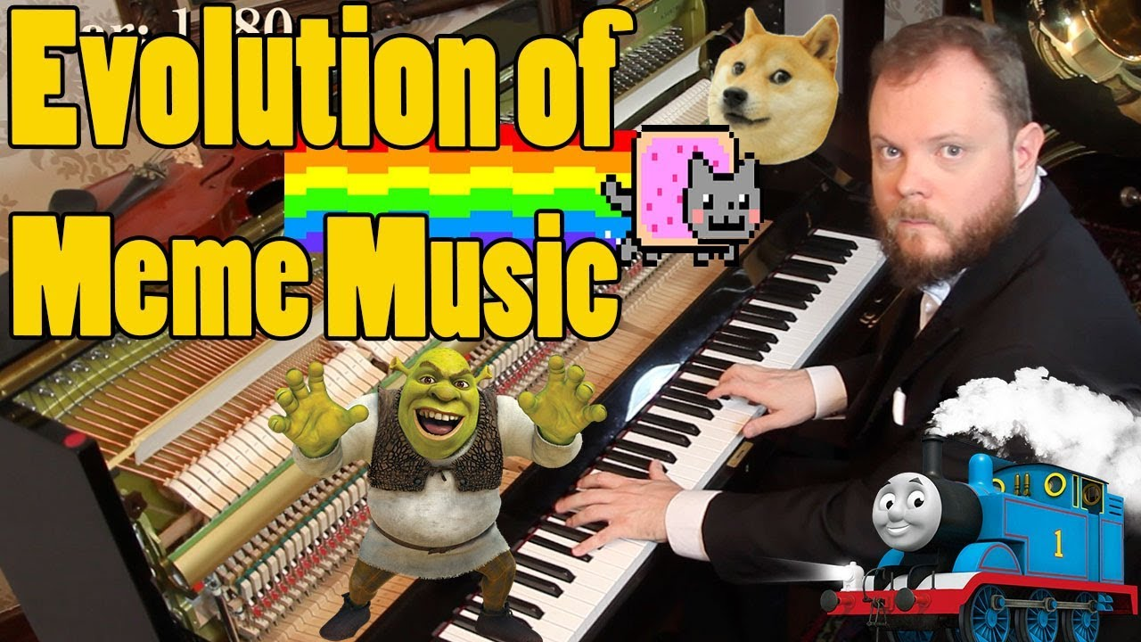 The evolution of meme music from 1500 AD to the present ...