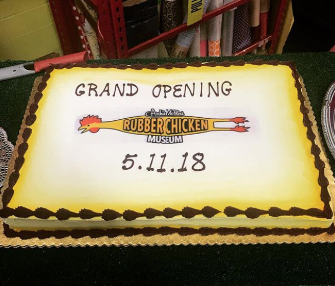 Archie Mcphees Rubber Chicken Museum Opens In Seattle Boing Boing