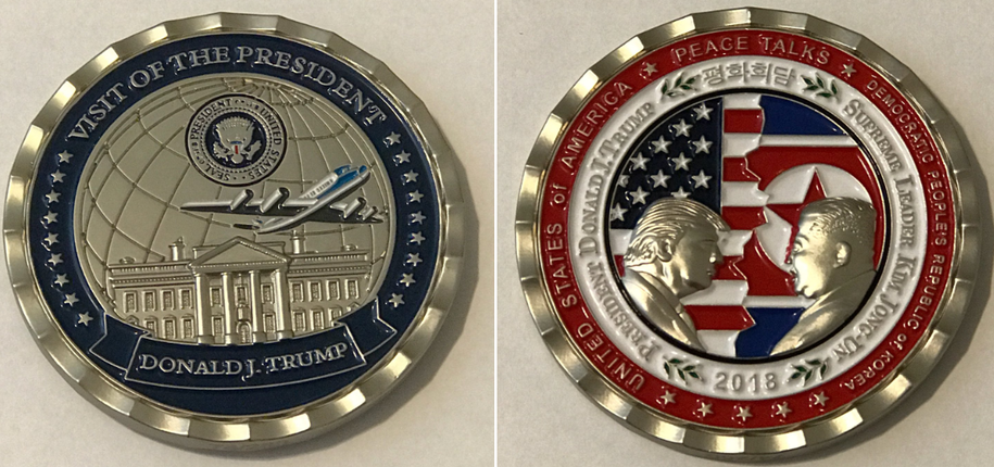 the trump kim commemorative coin now commemorates trump s disastrous