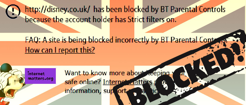 Britains great firewall blocks access to official disney sites britains great firewall blocks access to official disney sites internet safety guides vpns and coding sites for kids ccuart Images