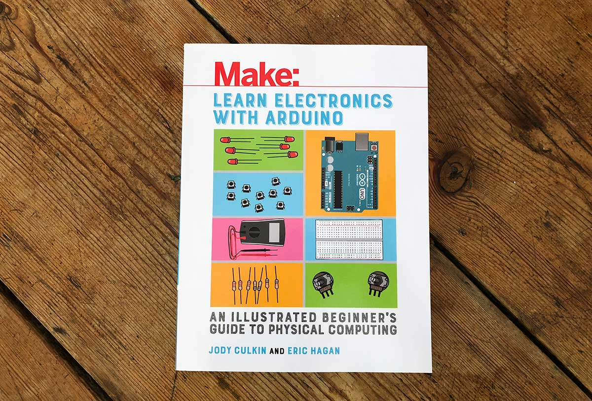 Learn Electronics With Arduino - a good book / Boing Boing