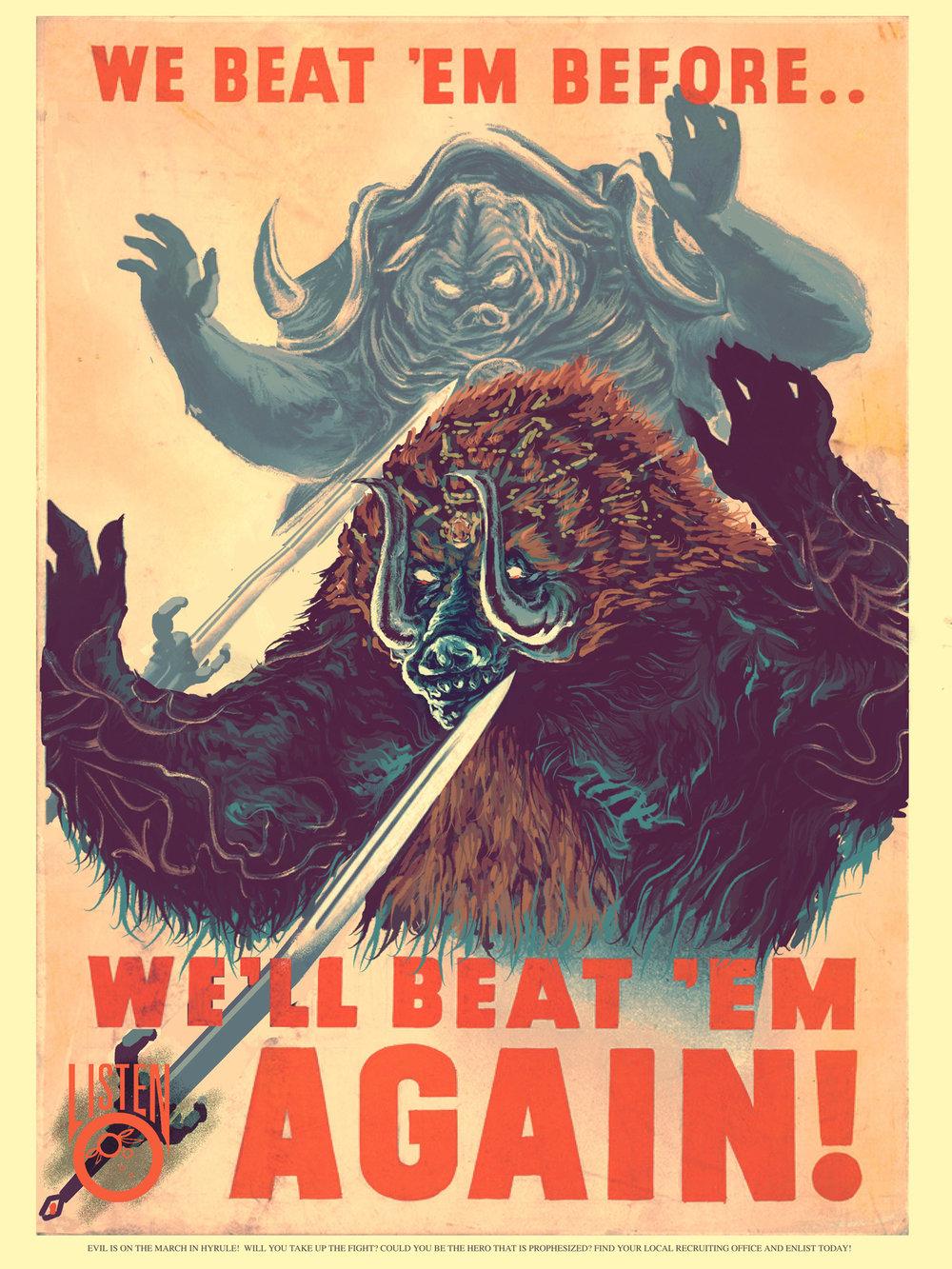 Zelda Propaganda Posters Boing