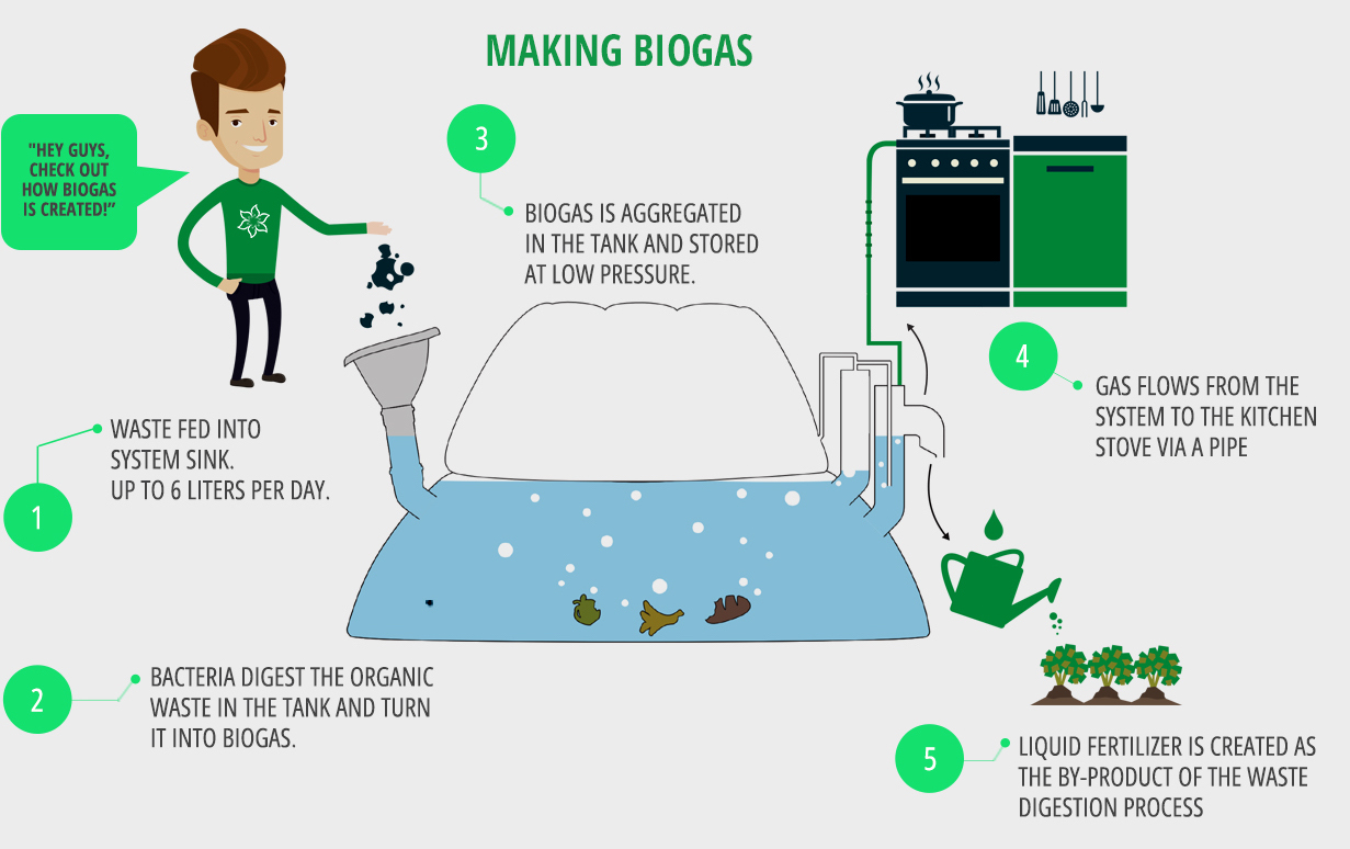 Homebiogas: easy, clean, climate-friendly way to heat and power your ...