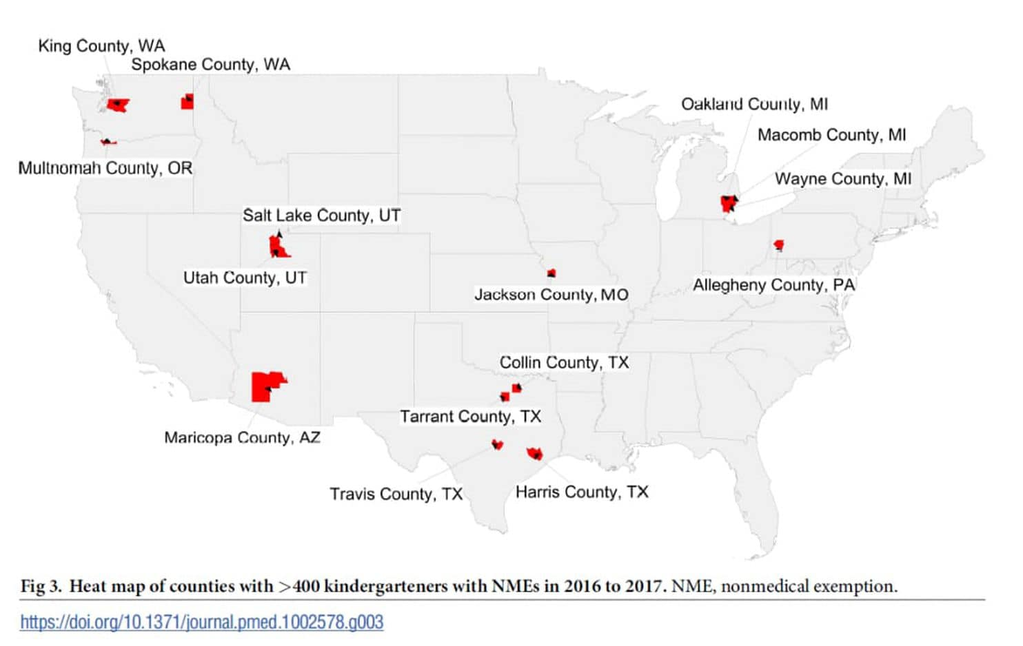 Read This Anti Vaxxers Are Using >> Which American Cities Have Lowest Herd Immunity Due To Anti Vaxxers