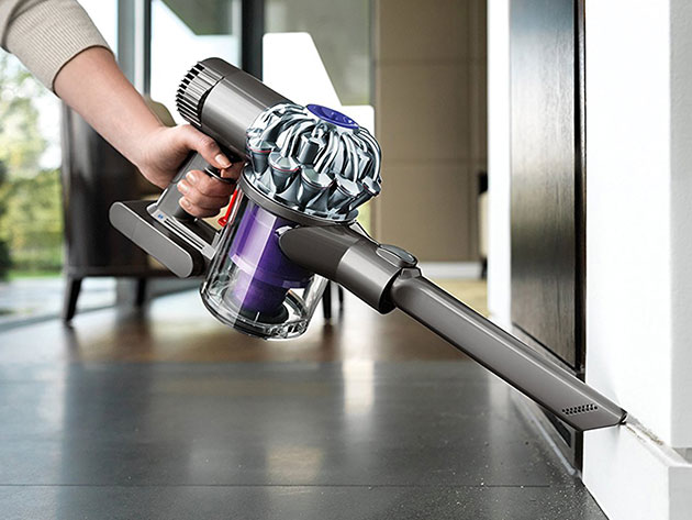 This cordless Dyson vacuum helps you clean every corner of