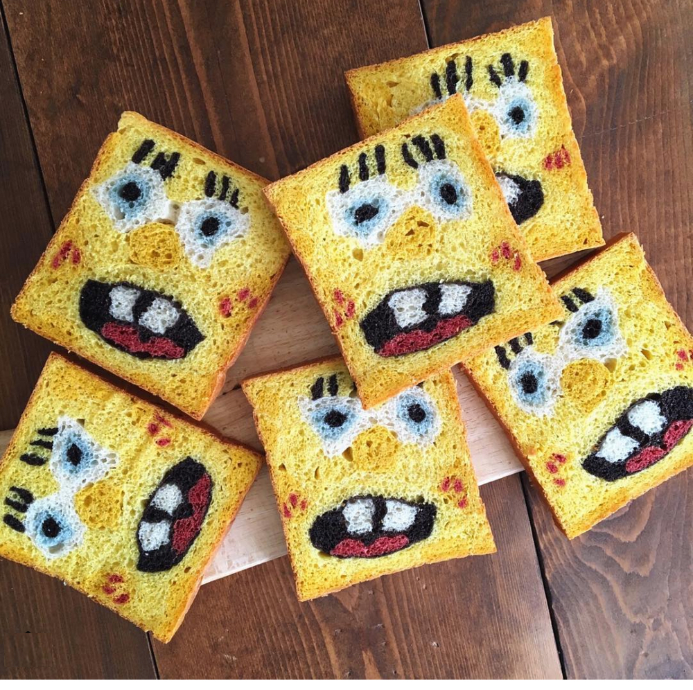 Spongebob bread and other carb based delights boing boing spongebob bread and other carb based delights voltagebd Gallery
