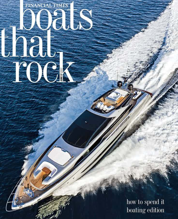 In-depth look at the Financial Times' weekly guide to ostentatious status goods for tasteless one-percenters