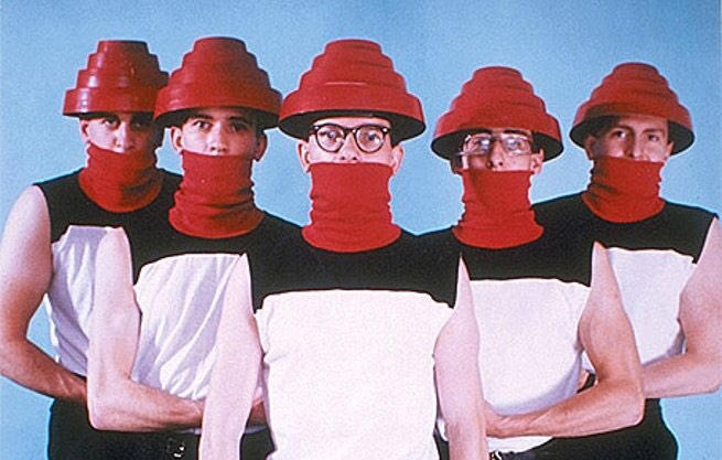 577452d6c2b The real meaning behind DEVO s Energy Dome helmets   Boing Boing
