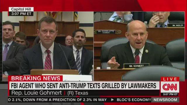 Watch: Gohmert goes off at Strzok hearing