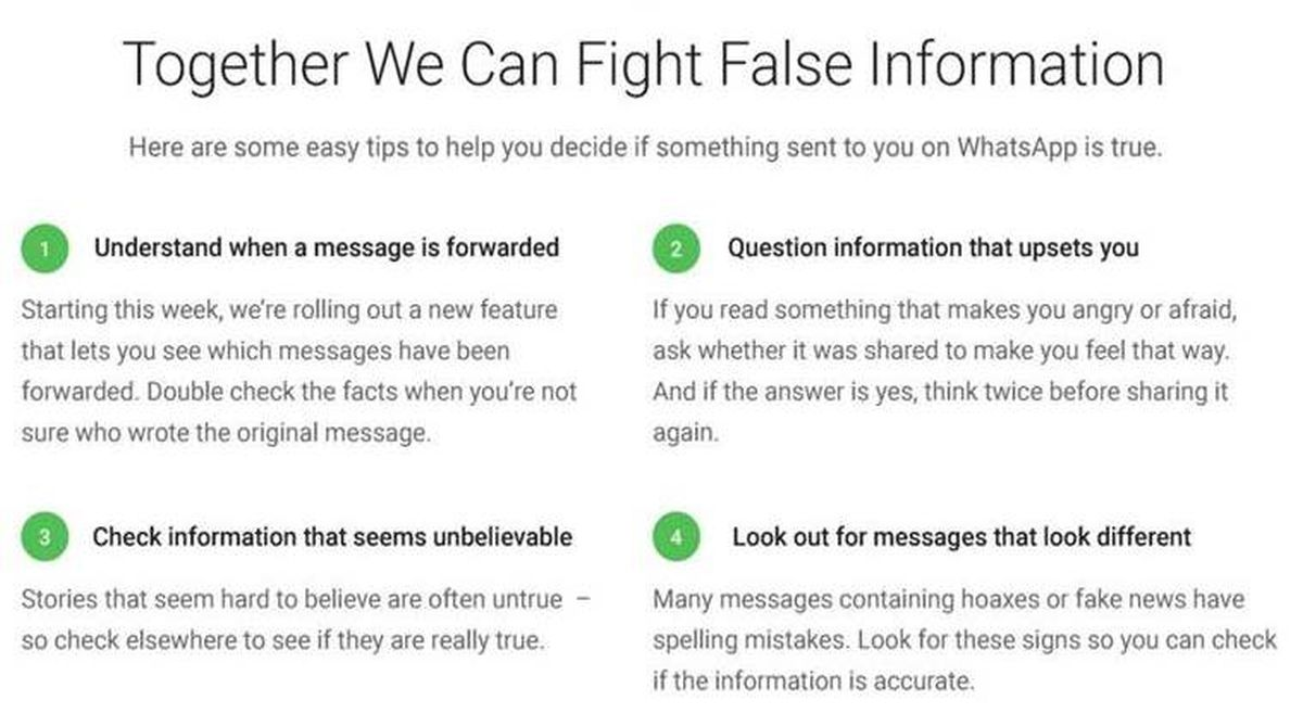 As hoax-fueled lynchings continue in India, Whatsapp puts limits on video-forwarding