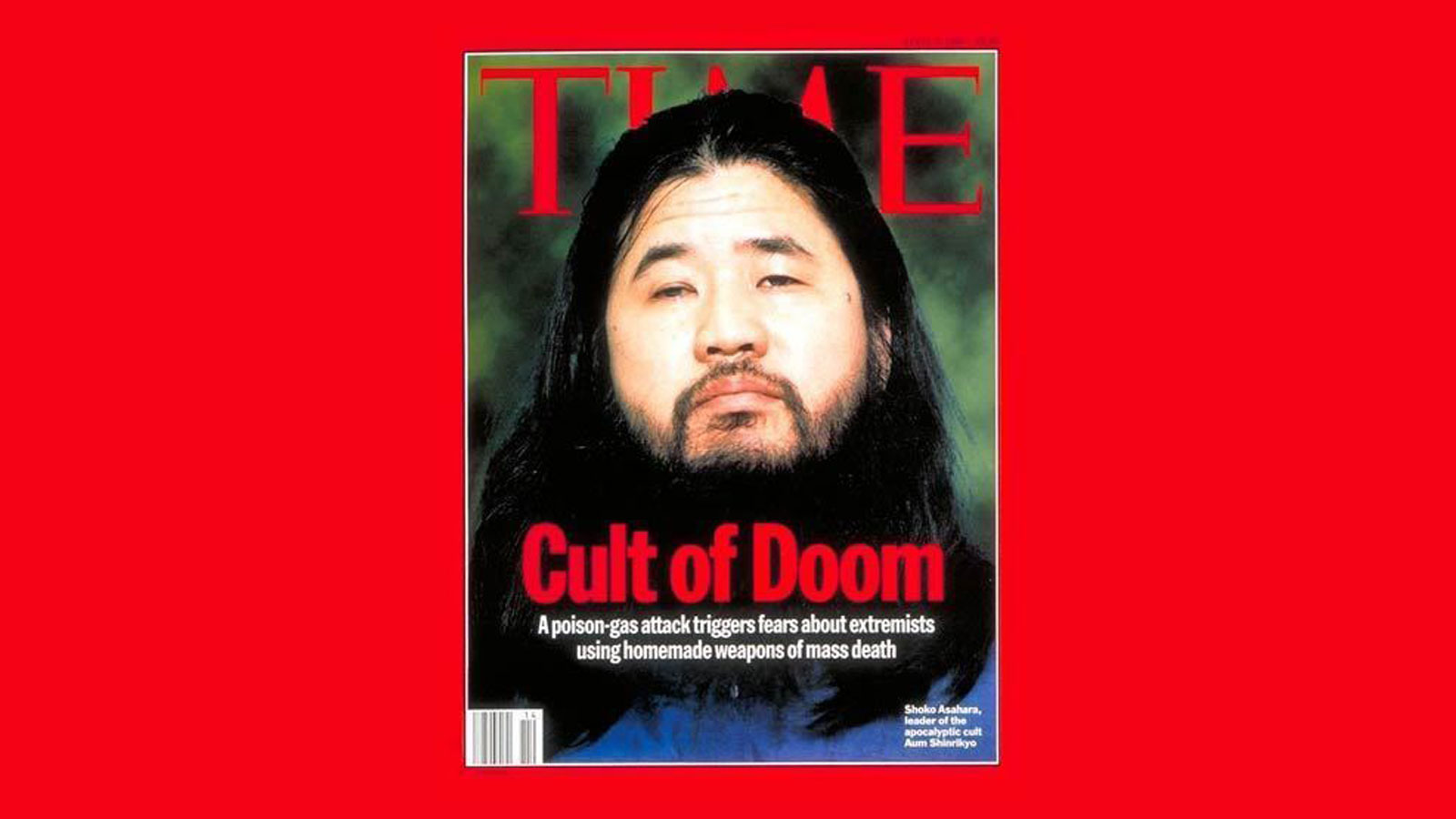 Japan cult leader executed over 1995 sarin attack