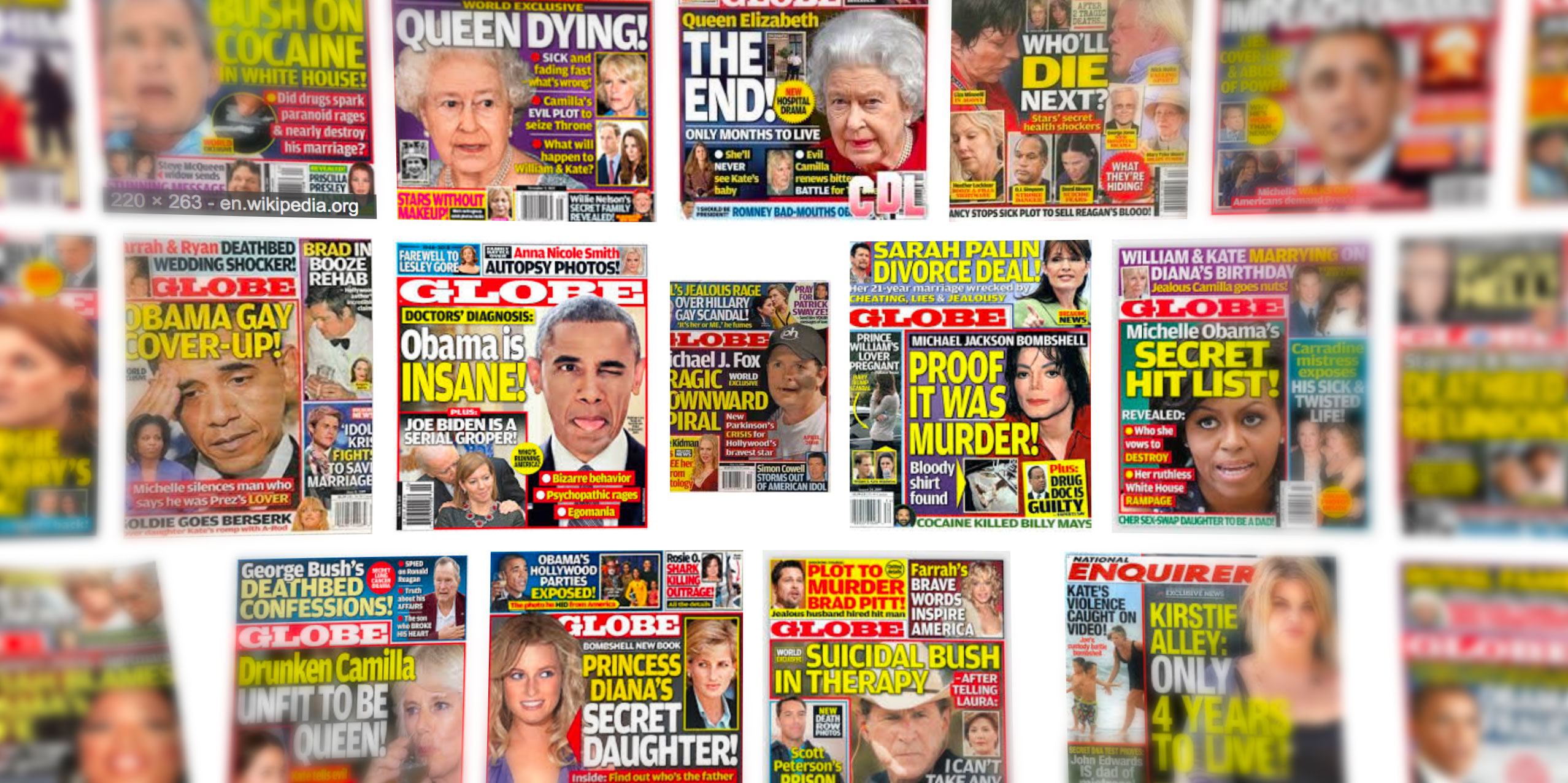 The Queen's Nazi shame, JonBenet's killer found, and Owen Wilson's baby mama revealed, in this week's dubious tabloids