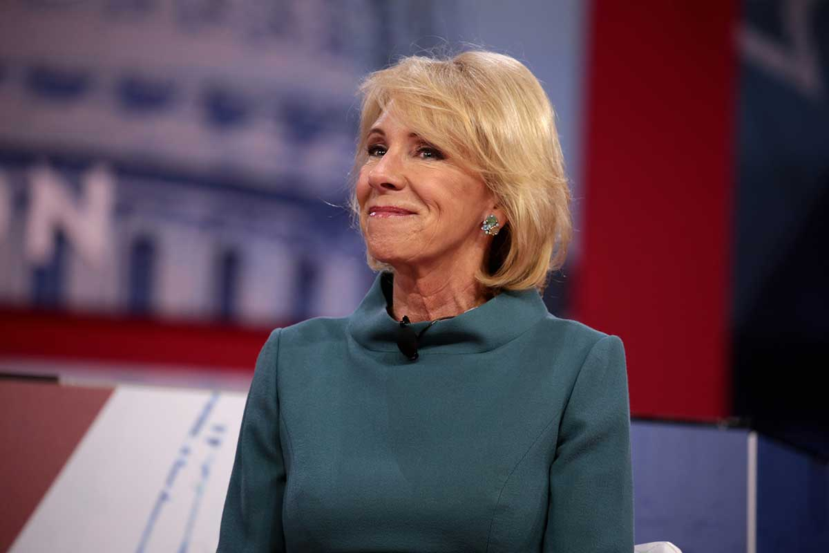 """""""Arrogance and Betrayal"""": Betsy DeVos Funneling Coronavirus Relief Money to Private and Religious Schools 