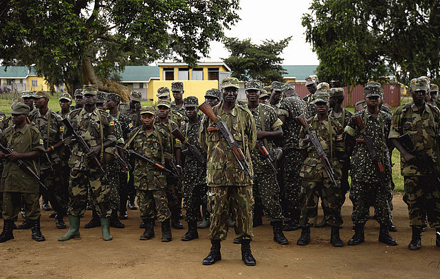 Ebola in a war zone: what could go wrong?