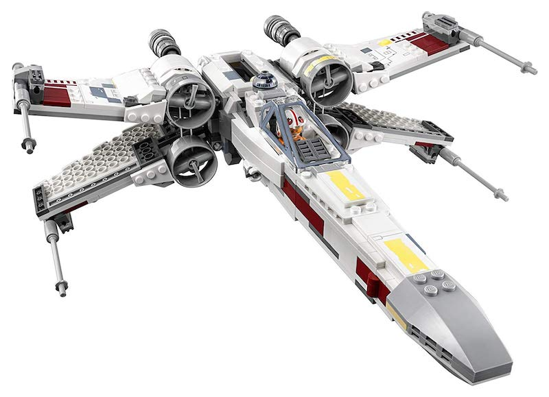 LEGO X-Wing a one day build for my 8 y-o nephew / Boing Boing