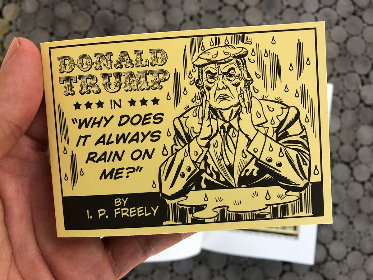 Naughty Tijuana Bible about Trump and Stormy