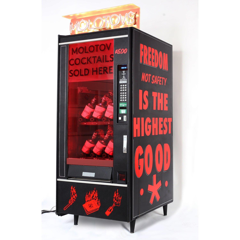 art vending machine selling