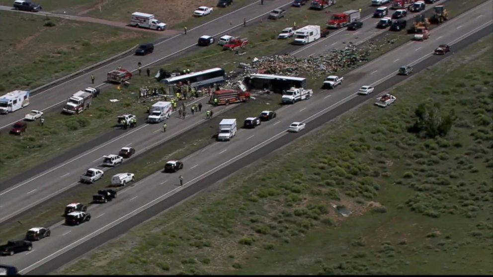 New Mexico Greyhound Bus Crash: Multiple deaths, serious injuries