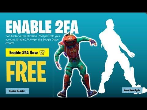 Fortnite: Turn on 2FA, get a free dance / Boing Boing