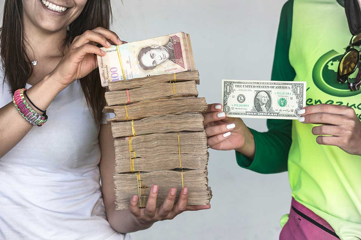 Facing 60 000 Percent Inflation Venezuela Just Issued A New Devalued Currency
