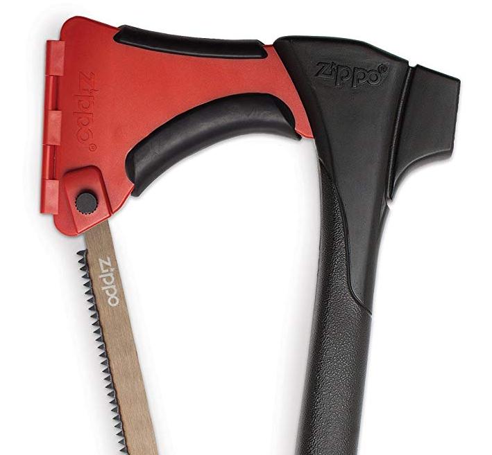 My Zippo axe is a multi-tool