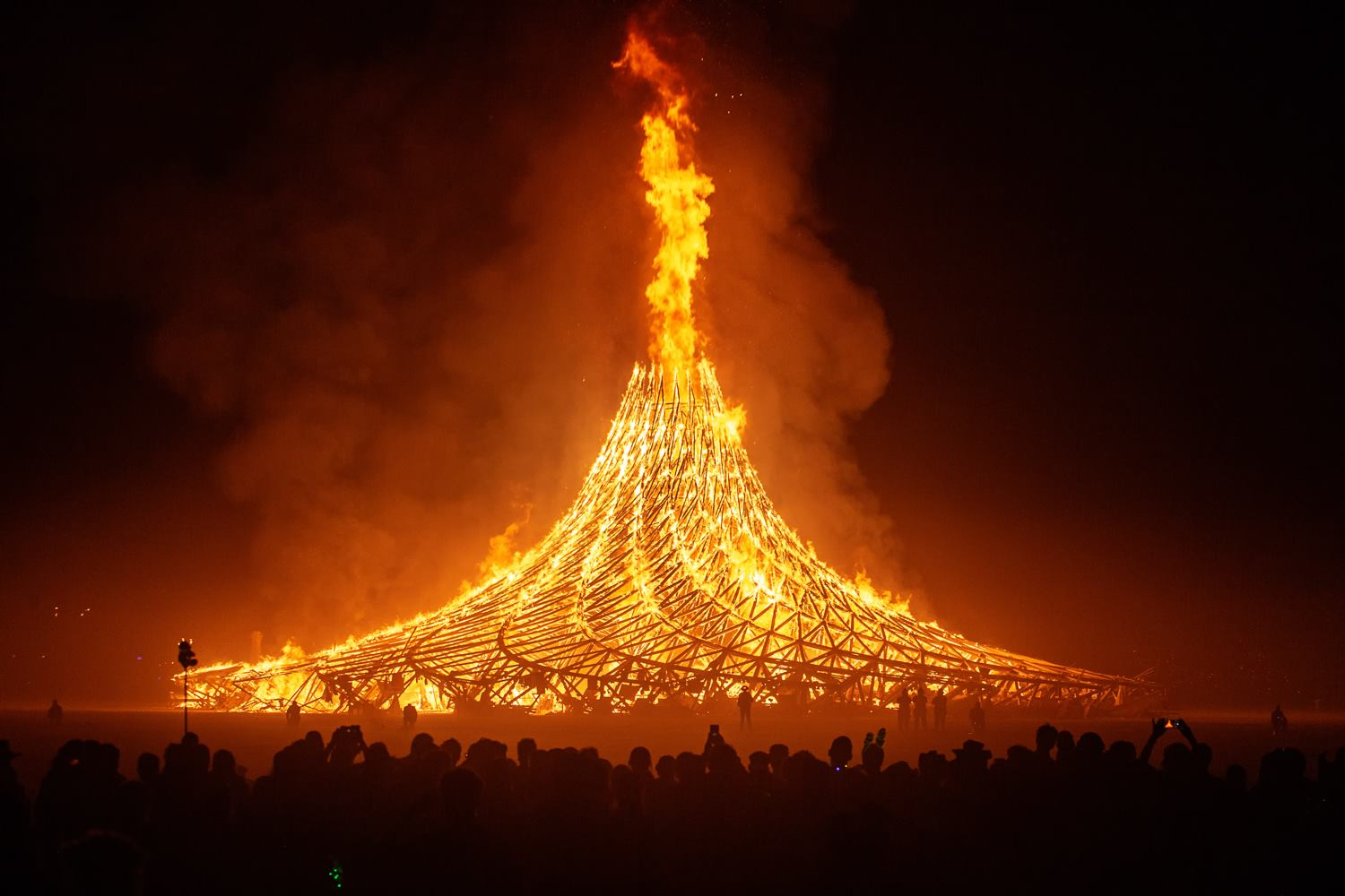 The playlist of the 2018 Burning Man Temple Burn / Boing Boing