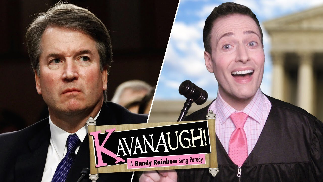 Randy Rainbow sings 'Kavanaugh' to the tune of 'Camelot'
