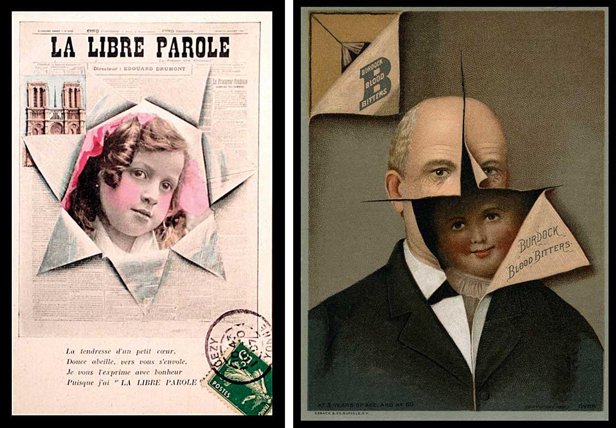 Creepy Victorian era advertising fad