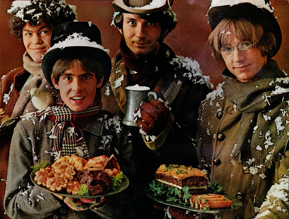Monkees Christmas Party.The Monkees Recorded A New Christmas Album Boing Boing