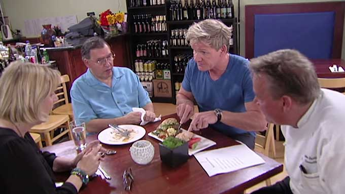 The Burger Restaurant Kitchen Nightmares